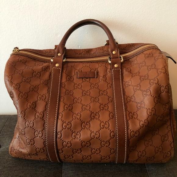 7f4731ec9736 Gucci Bags   Boston Joy Handbag In Cognac   Poshmark